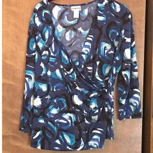 Chico's Travelers long sleeve top size 1